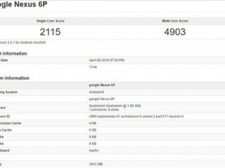 2016新版Nexus 6P现身:运行安卓7.0+4GB运存