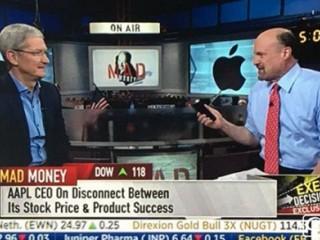 【专访】苹果CEO库克:非常看好中国市场 对它很乐观